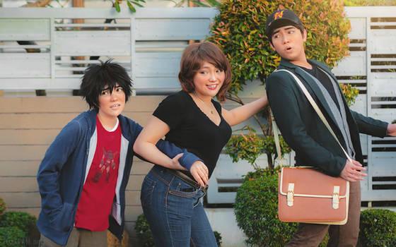 Big Hero 6: Family Bonding
