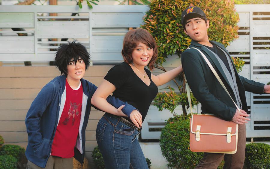 Big Hero 6: Family Bonding by behindinfinity