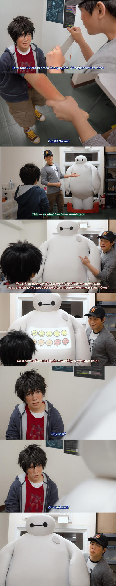 Big Hero 6: How would you rate your pain? by behindinfinity