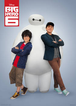 Big Hero 6: Movie Poster Style!