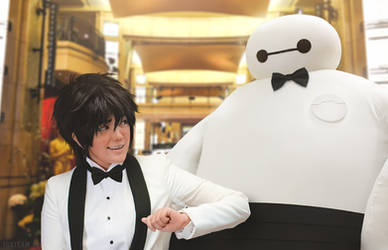 Big Hero 6: Hiro and Baymax at the Oscars