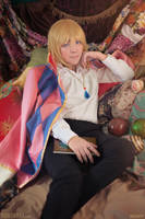 Howl's Moving Castle: Wizard Howl by behindinfinity