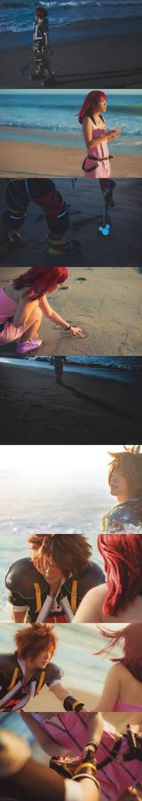 Sora and Kairi: One Sky, One Destiny