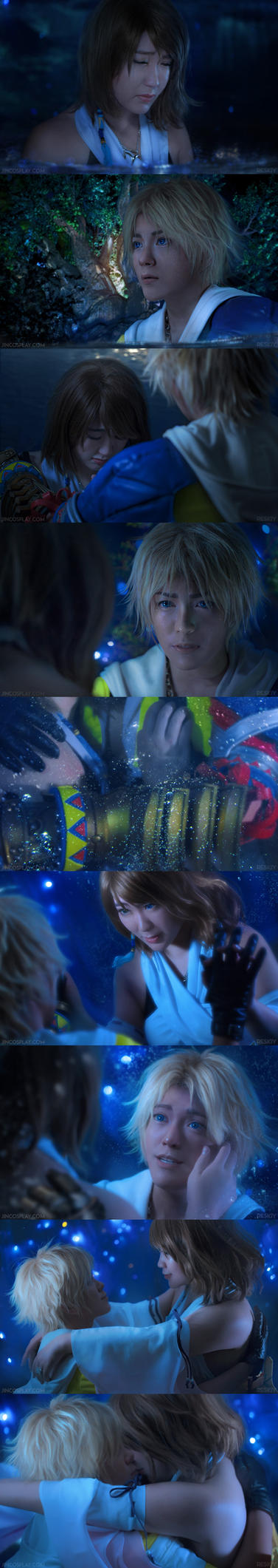 Final Fantasy X: Suteki da ne by behindinfinity