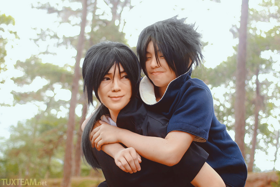 Itachi And Sasuke Cosplay