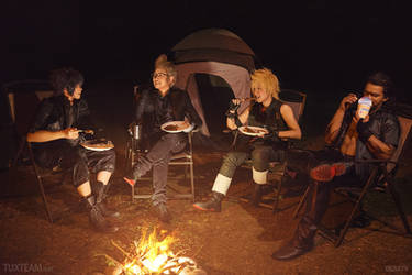 Final Fantasy XV: Camping Chocobros