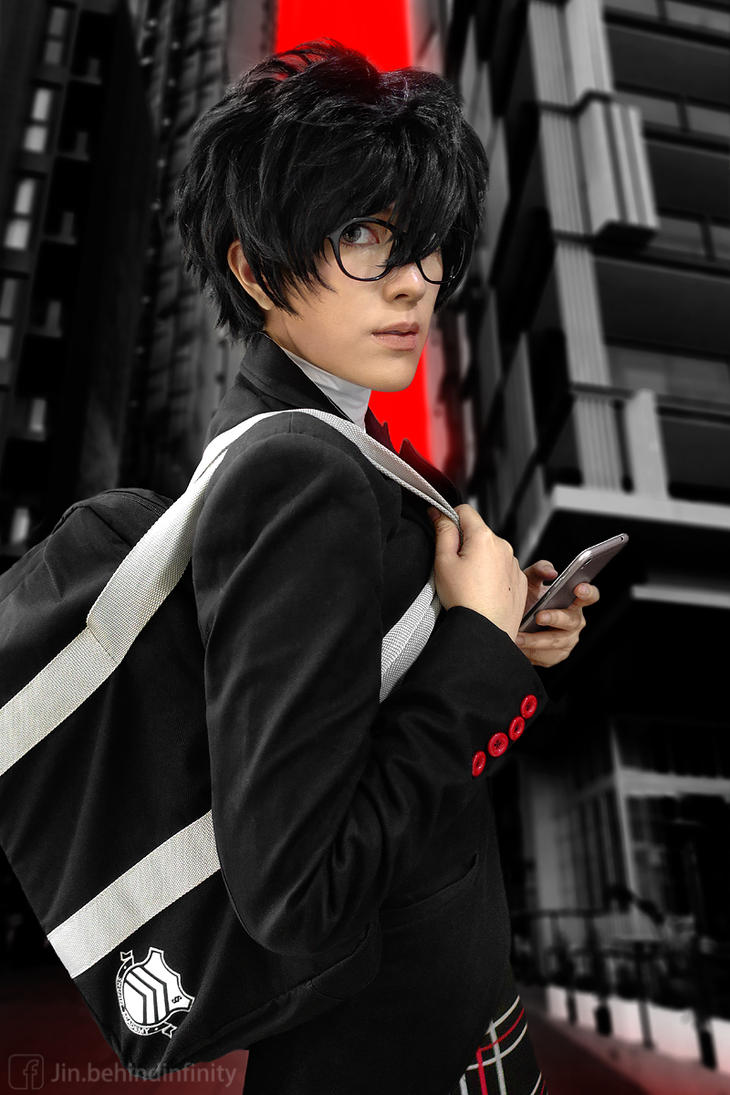 Persona 5 Cosplay: Protagonist by behindinfinity