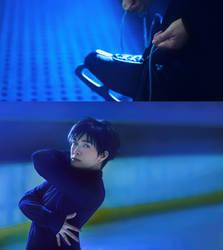 Yuri On Ice: Training by behindinfinity