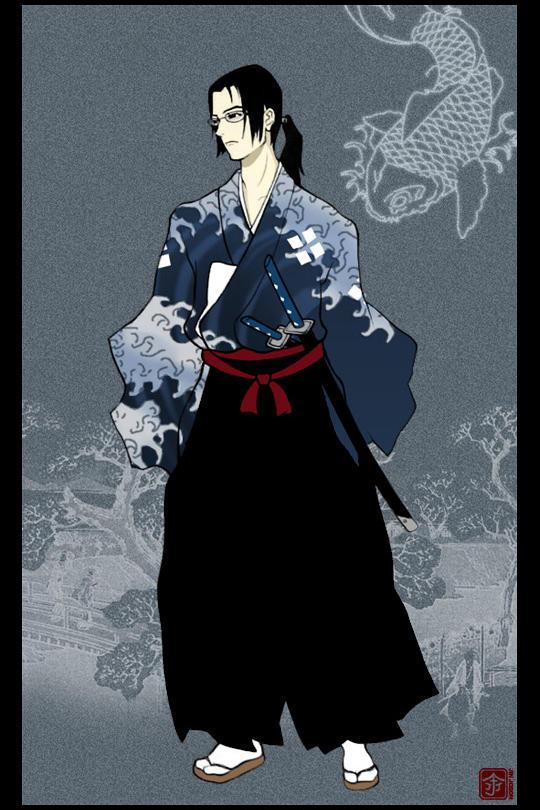 Samurai Champloo - Jin by behindinfinity
