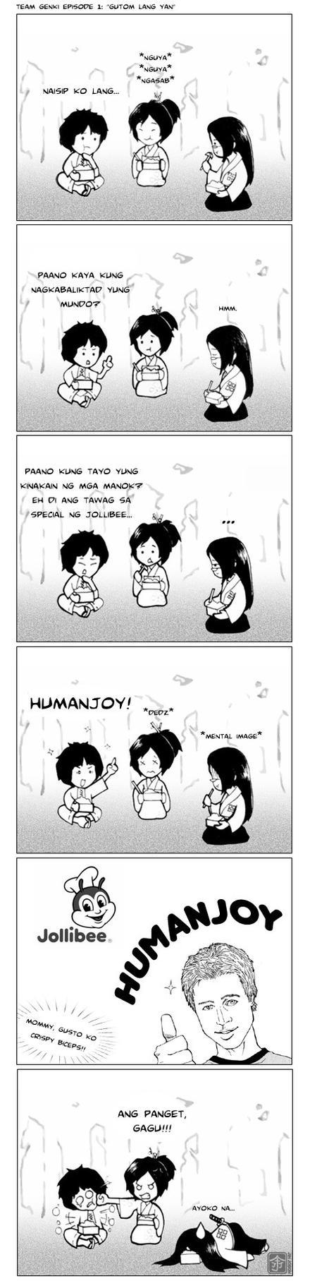 Gutom Lang Yan by behindinfinity