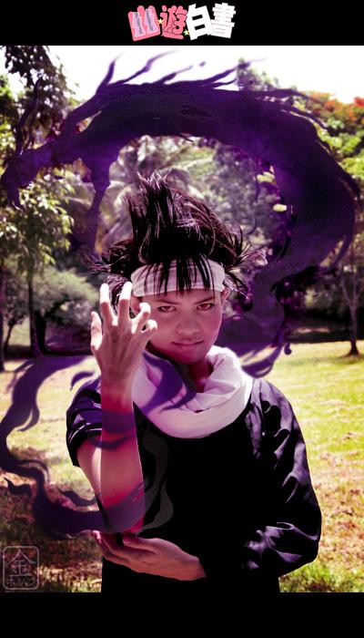 Cosplay Yu yu Hakusho Hiei__Kokuryuuha_by_behindinfinity