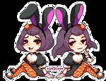 Bonnie and Betty by kurolain