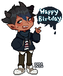 Happy Birthday Nokendu by kurolain