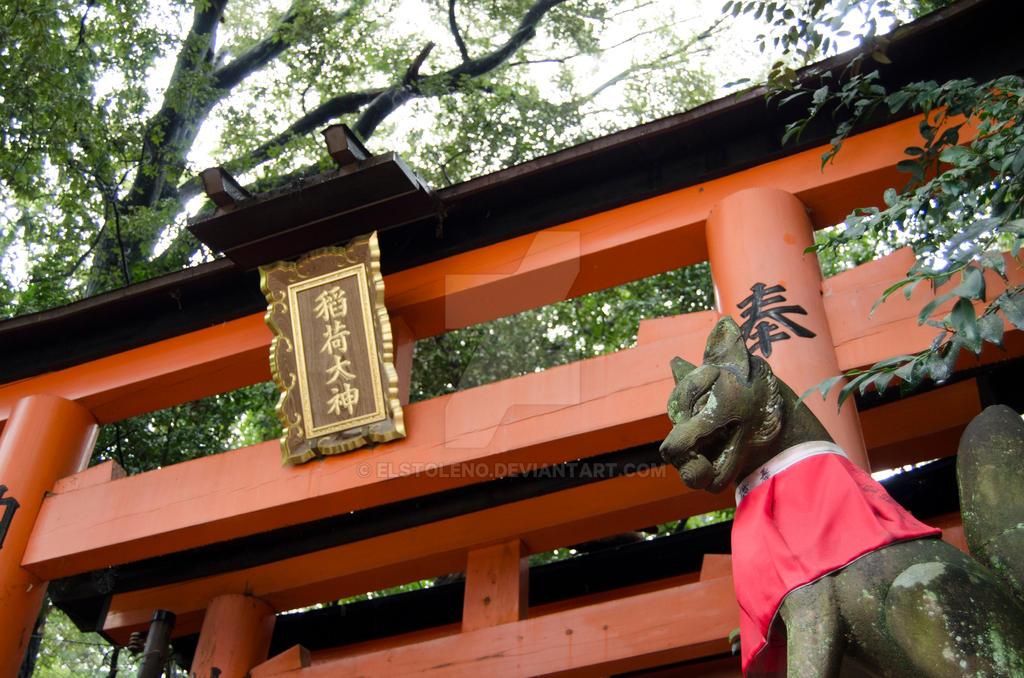 Kyoto - Fushimi Inari Taisha Shrine by elstoleno on DeviantArt