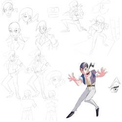 Character design doodles
