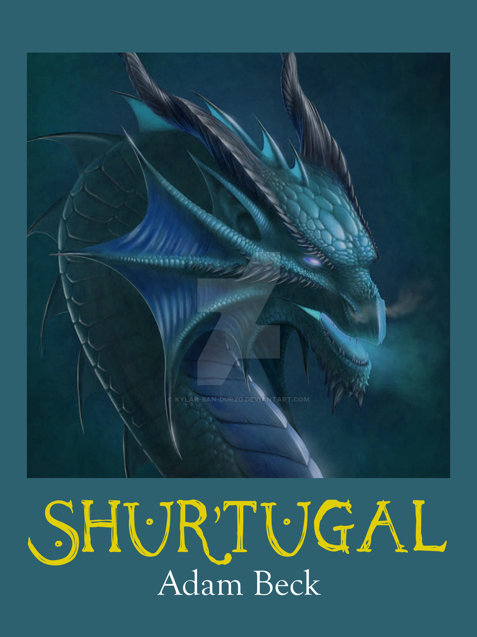Eragon Book Cover Art : Inheritance book v cover by kylar ban durzo on deviantart