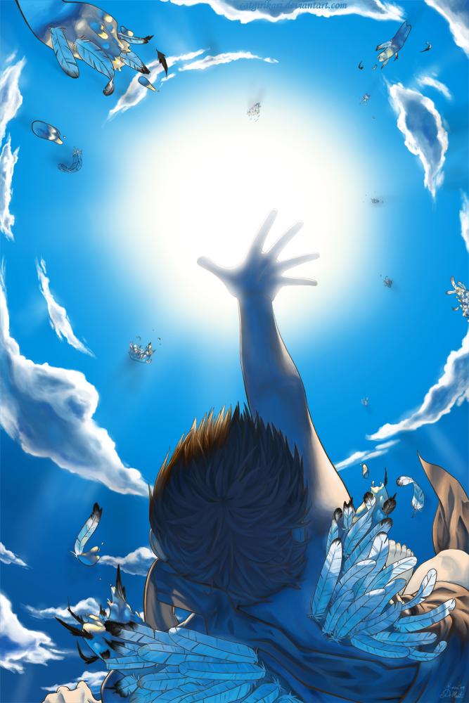 Icarus by danielledemartini