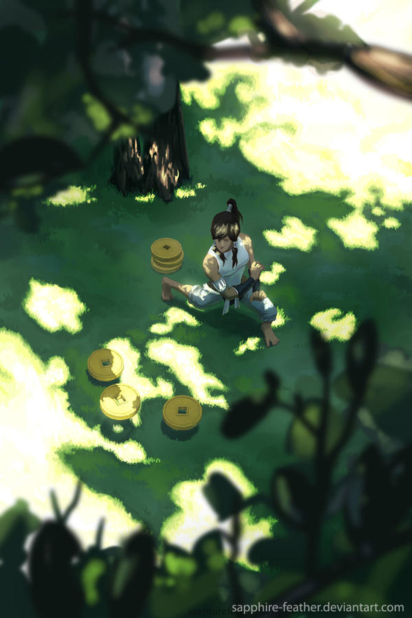 Korra: Peaceful Days by danielledemartini