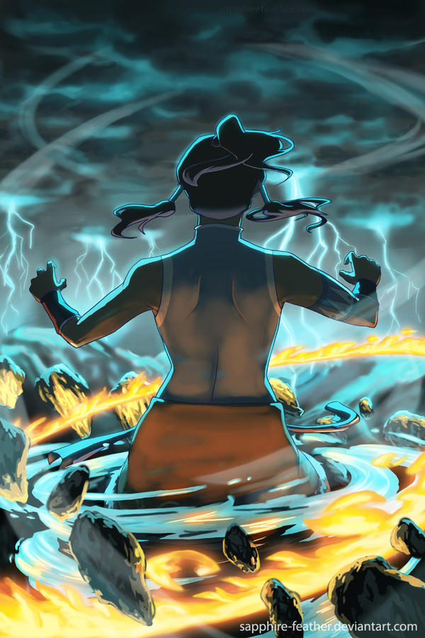 Korra: Ascend by danielledemartini