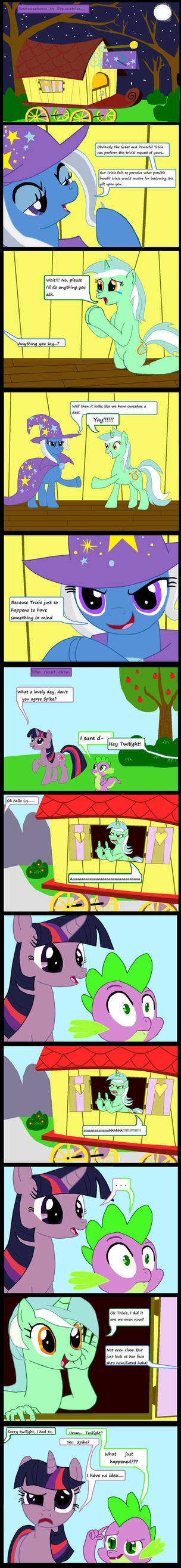 Lyra's wish, Trixie's revenge. by Evil-DeC0Y