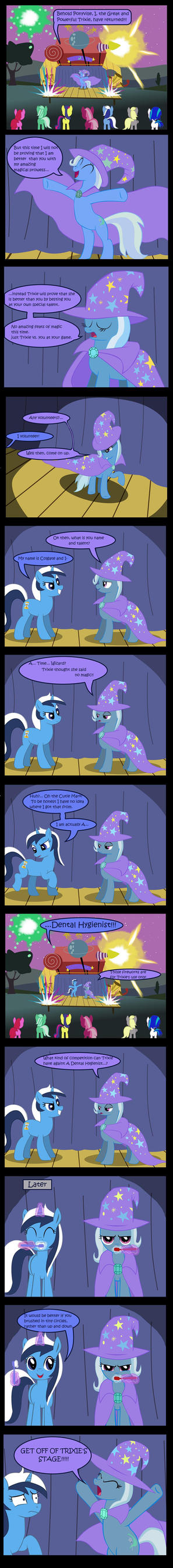 Trixie Vs. Colgate by Evil-DeC0Y