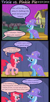 Trixie Vs. Pinkie Pie