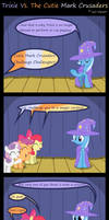 Trixie Vs. The Cutie Mark Crusaders