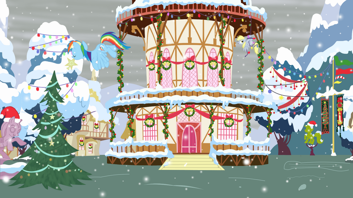 Decorating Ponyville by Evil-DeC0Y