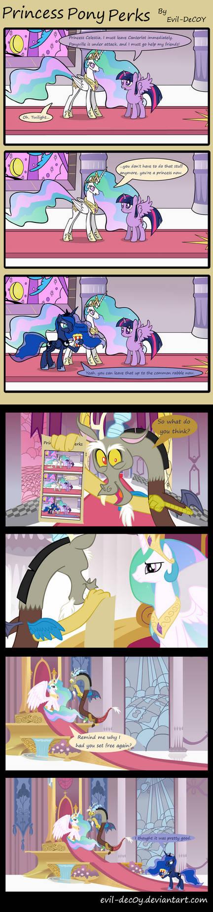 Princess Pony Perks by Evil-DeC0Y