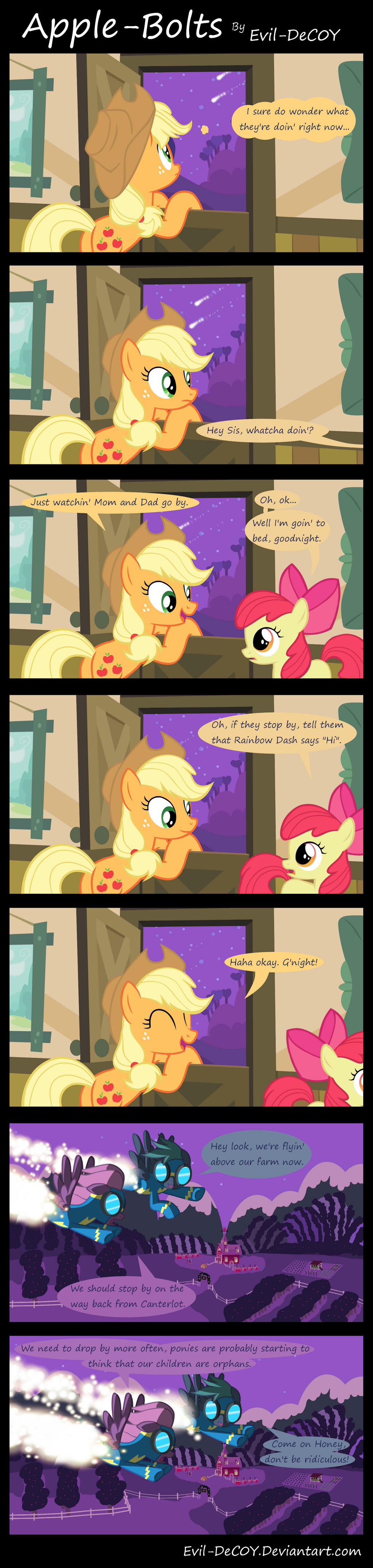 Apple-Bolts by Evil-DeC0Y