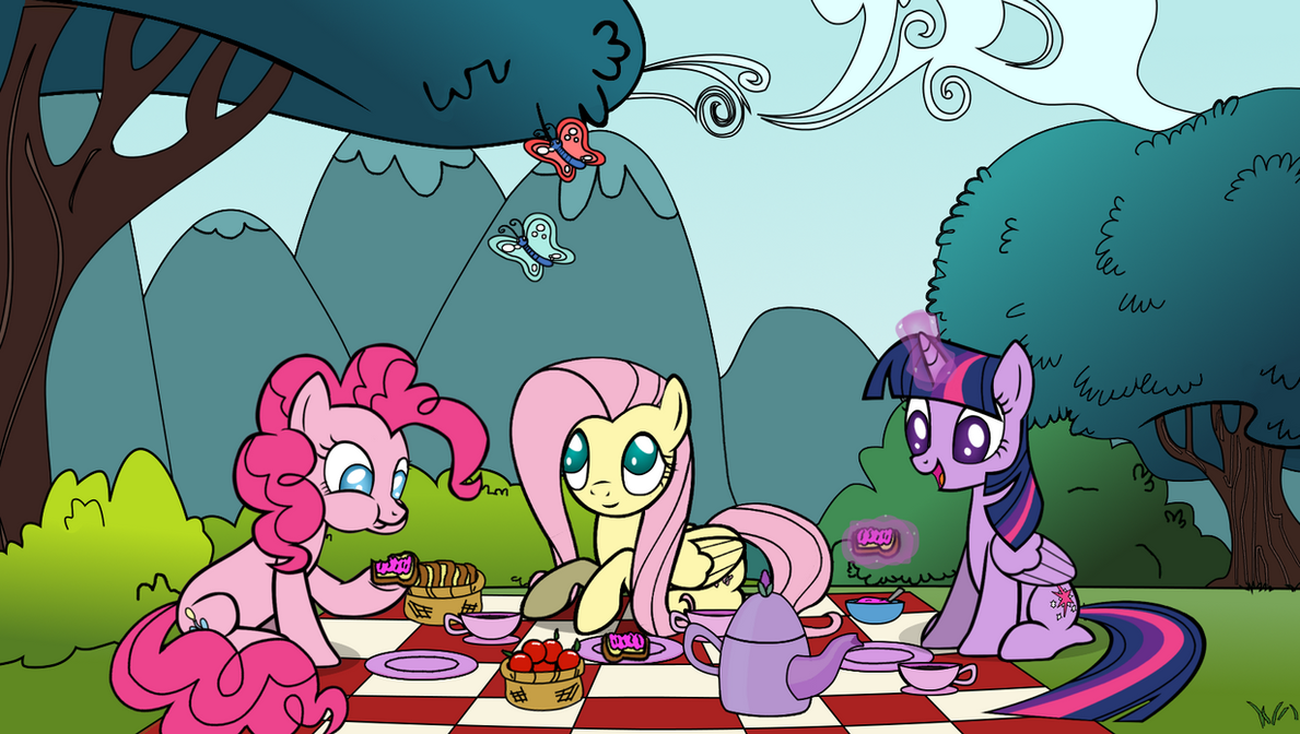 Perfect Day For A Picnic by Evil-DeC0Y