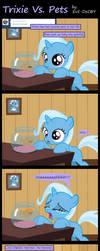 Trixie Vs. Pets by Evil-DeC0Y