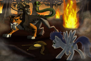 Food Fight by Evil-DeC0Y
