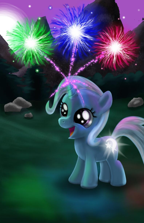Trixie's Tricky Filly Fireworks Trick by Evil-DeC0Y