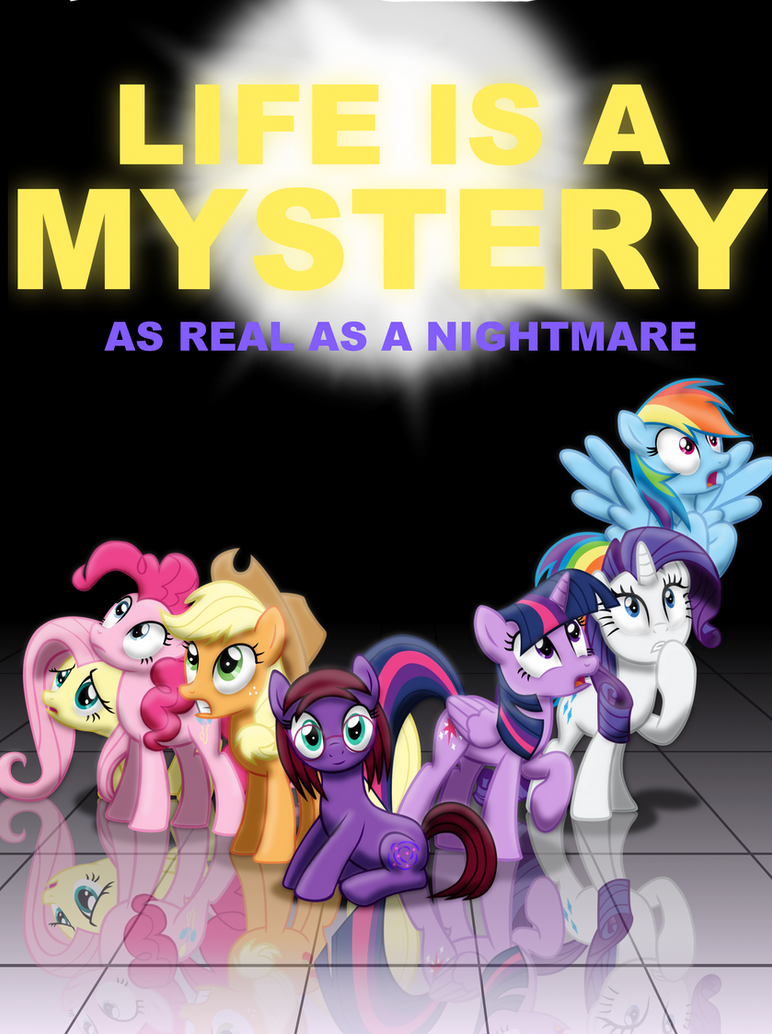 Life is a Mystery (Commission) by Evil-DeC0Y