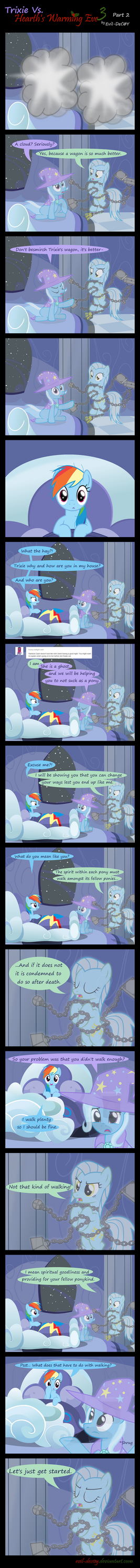 Trixie Vs. Hearth's Warming eve 3 (part 2) by Evil-DeC0Y