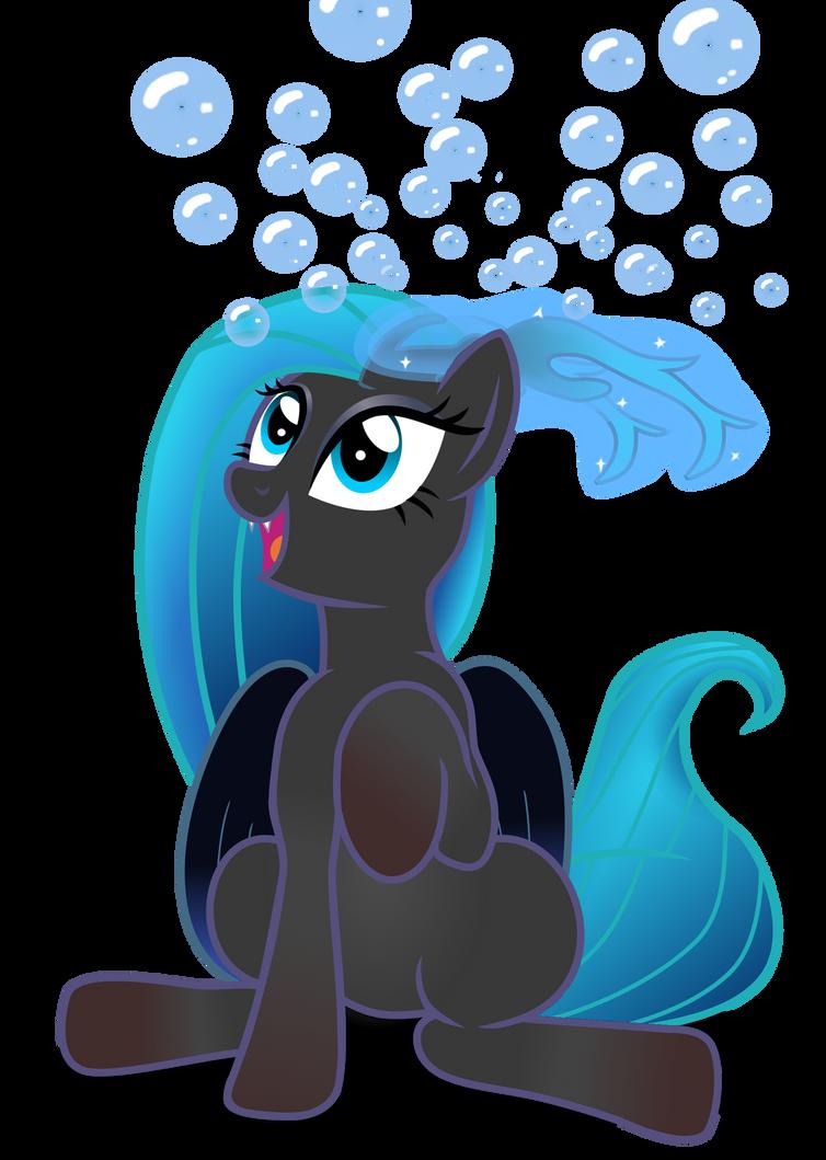 Bubbles (Commission) by Evil-DeC0Y