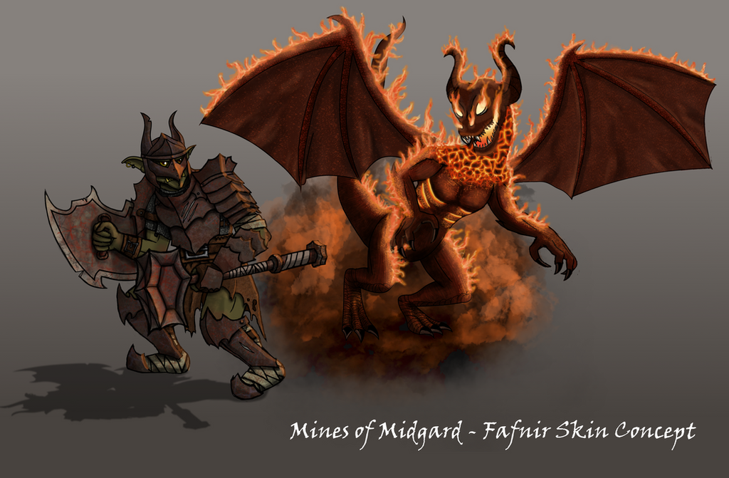 Mines of Midgard - SMITE Skin Concept by Evil-DeC0Y