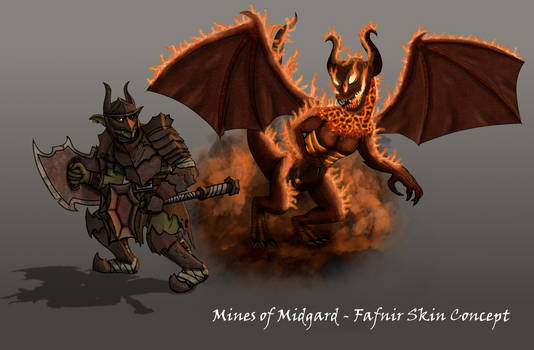 Mines of Midgard - SMITE Skin Concept