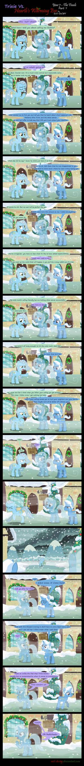 Trixie Vs. Hearth's Warming Eve: Finale (Part 7) by Evil-DeC0Y