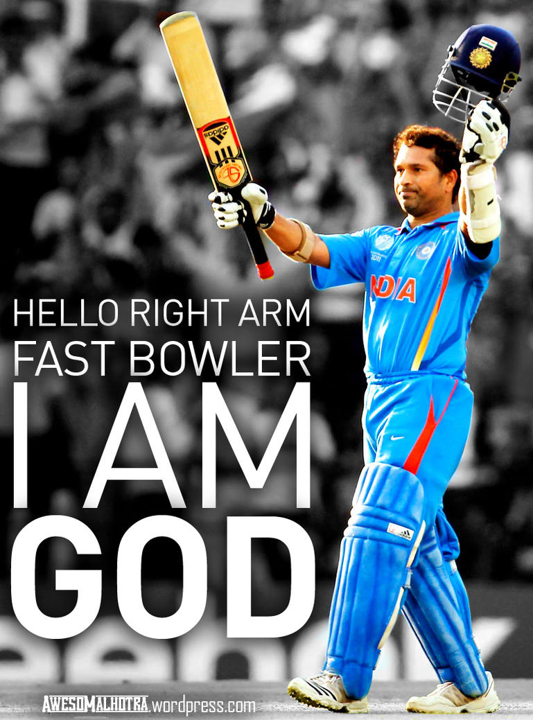Sachin – the God of Cricket