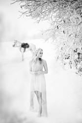 Snow princess by Denaru