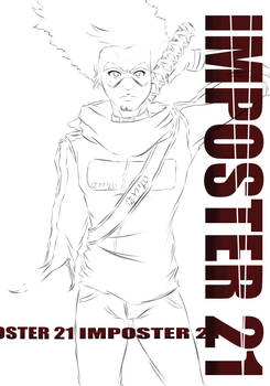 Imposter 21 Volume 2 Cover (WIP)
