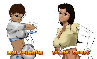 Ready 2 Rumble Lulu vs Selena