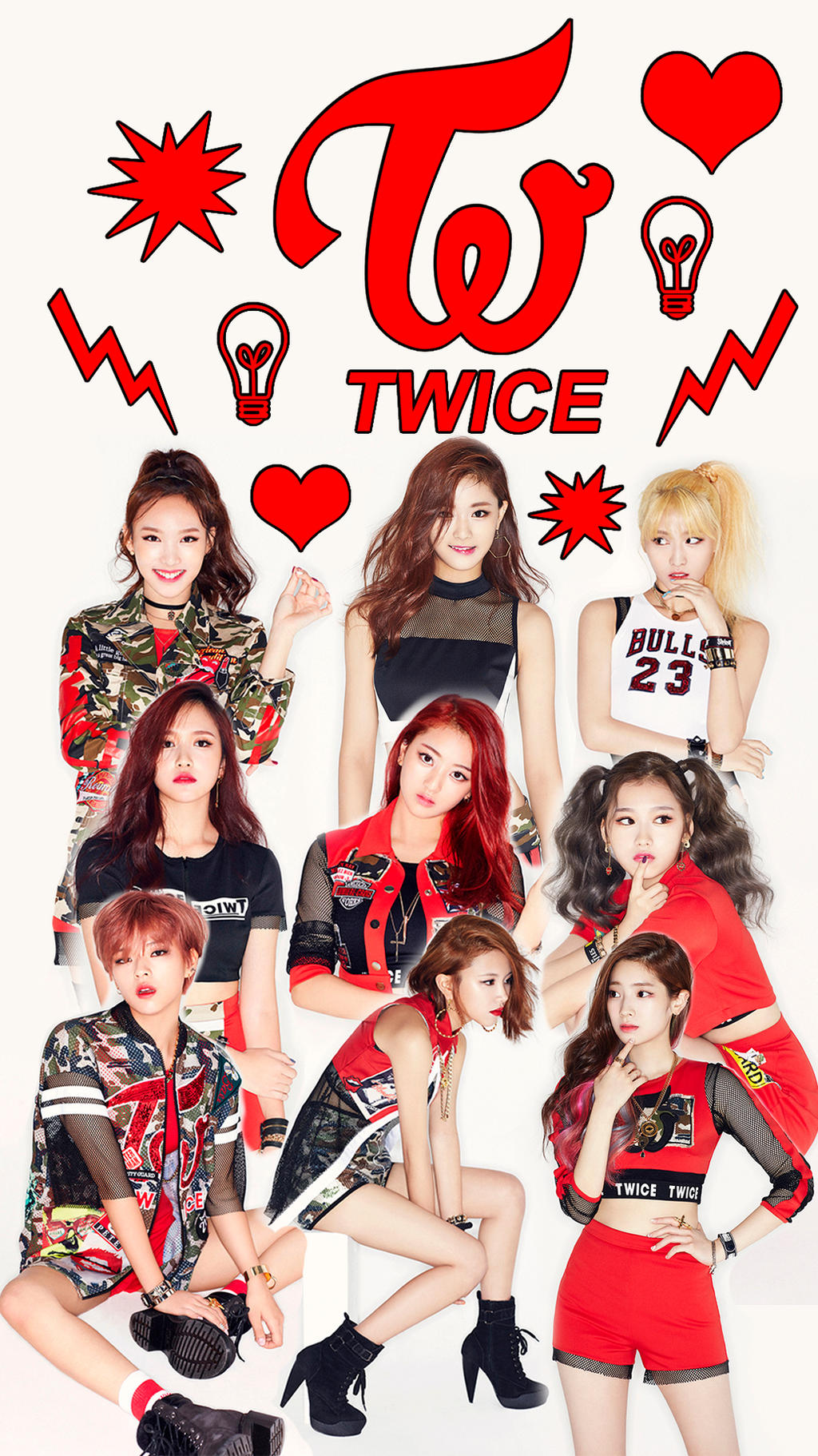 Twice Wallpaper Cell by oncefortwice on DeviantArt