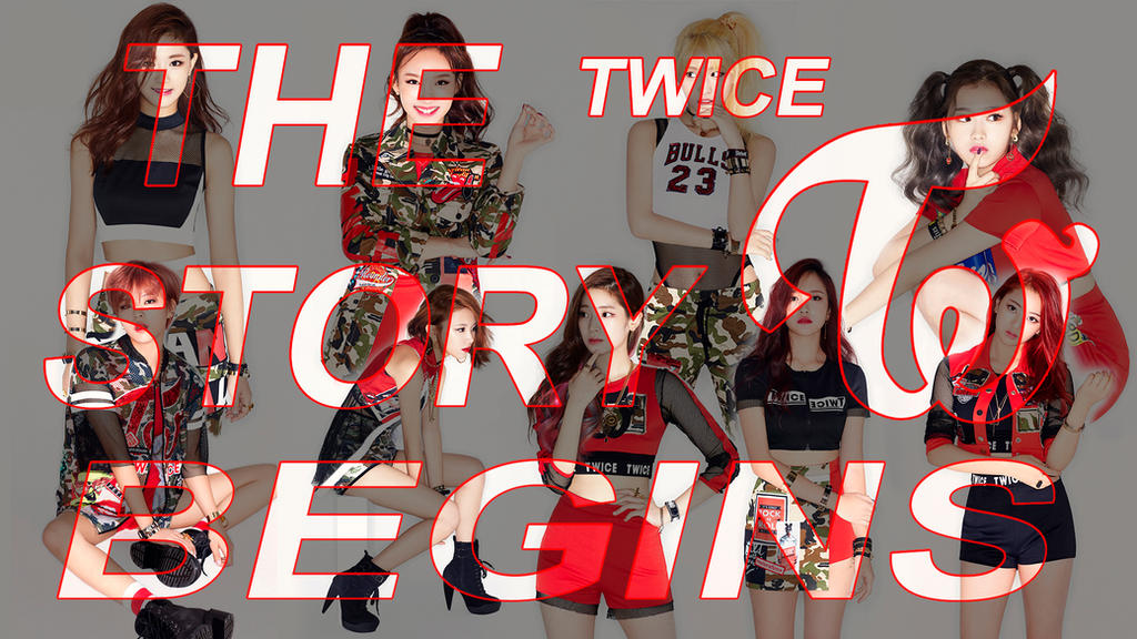 Twice The Story Begins Wallpaper by oncefortwice on DeviantArt