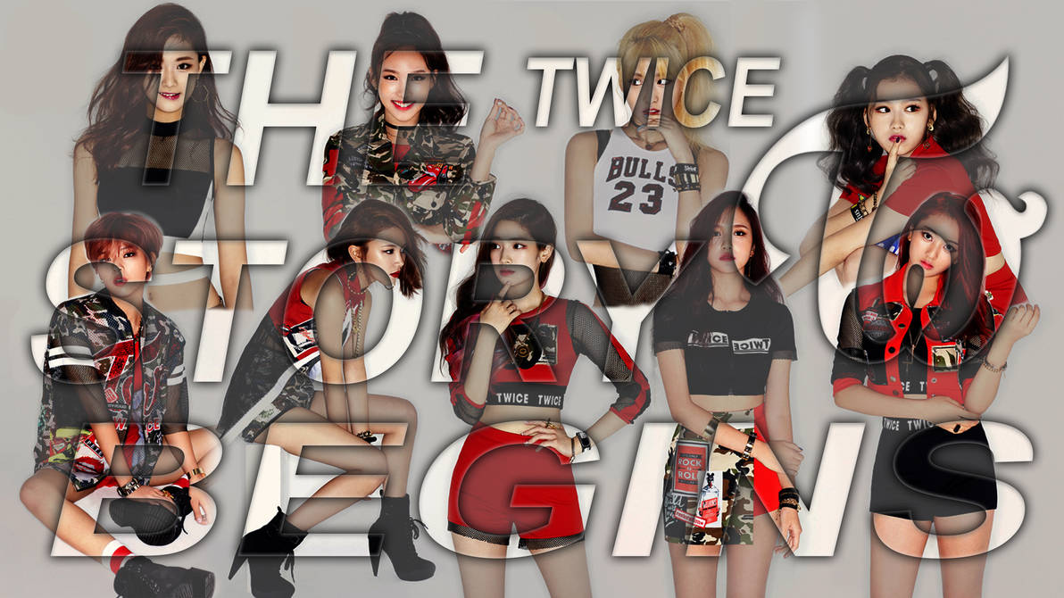 Twice The Story Begins Wallpaper 4k by oncefortwice on DeviantArt