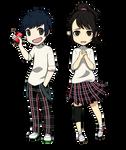 Pq2 Mishima and Shiho
