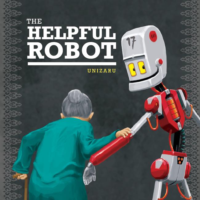 The Helpful Robot by niz-m