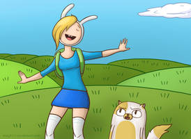 Fionna and Cake by May379